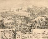 Untitled [battle between the French and Dutch troops on the Isle Tabago, 1677 F. M. h. 2601]