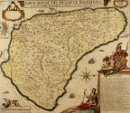 A New Map Of The Island Of Barbados wherein every Parish, Plantation, Watermill, Windmill & Cattlemill, is described with the name of the Present Possesor, and all things els Remarkable according to a Late Exact Survey thereof.