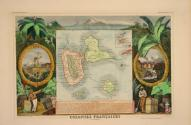 Colonies Françaises (en Amérique) (The French Colonies in America), from Atlas National Illustrè (Illustrated National Atlas)